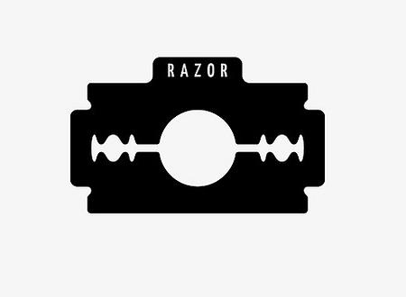 Exemple de logo N&B Razor