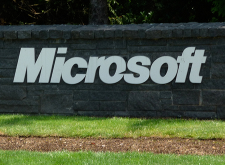 Logo Microsoft, Jun 2011
