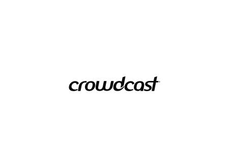 Exemple de logo N&B Crowdcast