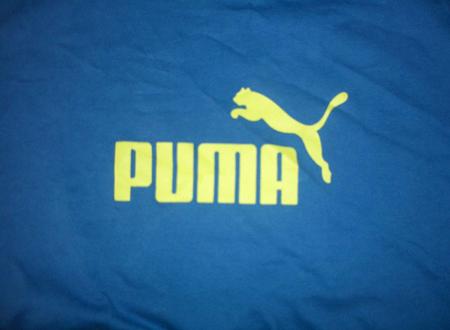 Logo Puma sur un T-shirt, Jun 2011